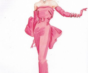 Marilyn Monroe and pink image