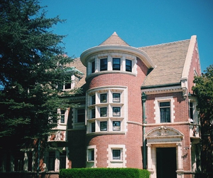 house, mansion, and ahs image