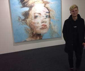 art, pale, and grunge image