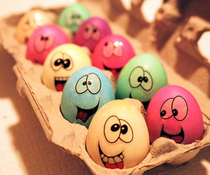 eggs, funny, and easter image