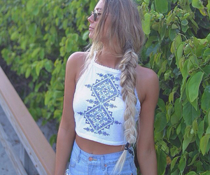 braid, clothing, and fashion image