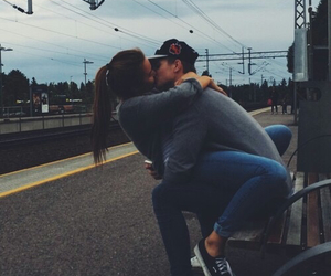 girl, guy, and cute image