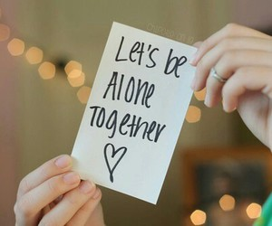 alone and together image
