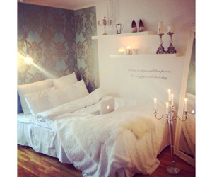 beautiful, bedroom, and blue image