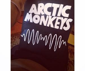 music, arctic monkeys, and art image