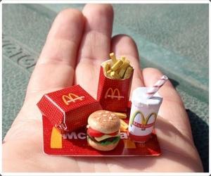 cool, hamburger, and mc donald image