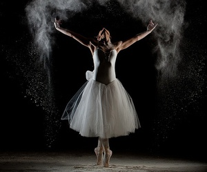 ballerina, ballet, and style image