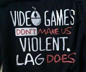 lag, funny pictures, and video games image