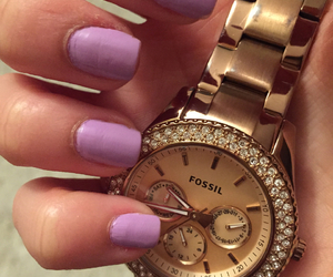 fossil, lavander, and nails image