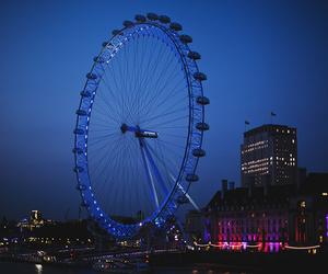 eye, london, and london eye image