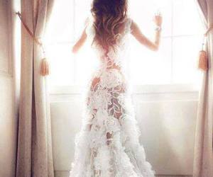 corset, lace, and ombre image