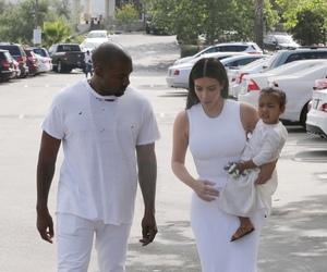kanye west, family, and kim kardashian image