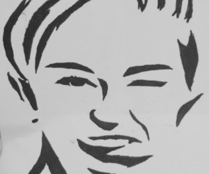 cyrus, draw, and miley cyrus image