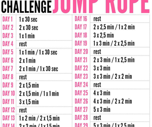 challenge, jump, and workout image