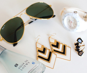 style, sunglasses, and glasses image