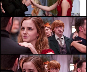 dance, harry potter, and hermione image