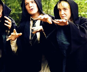 harry potter, draco malfoy, and draco image