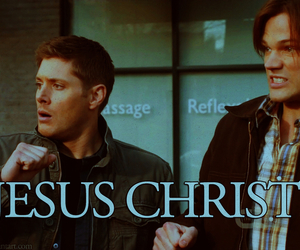 supernatural, dean winchester, and sam winchester image