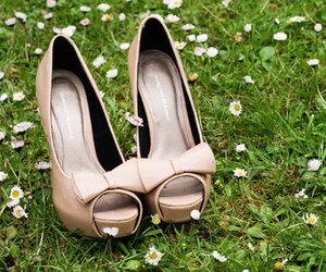 daisy, shoes, and fashion image