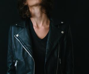 badass, jacket, and jaw image