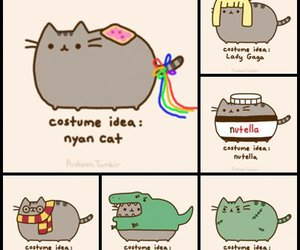 cat, nutella, and sweet image