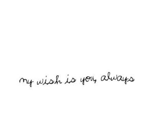 love, text, and wish image