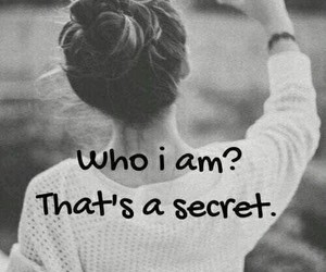 secret, whoiam, and Who image