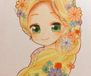 anime, art, and princess image