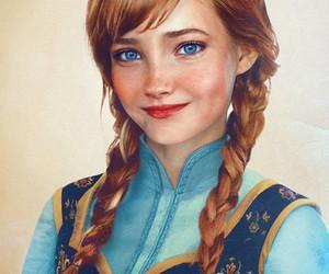 anna, disney, and princess image