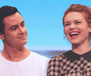holland roden, teen wolf, and ryan kelley image