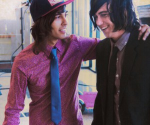 kellin quinn, vic fuentes, and pierce the veil image