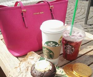 bag, pink, and purse image