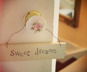 Dream, sweet dreams, and door image