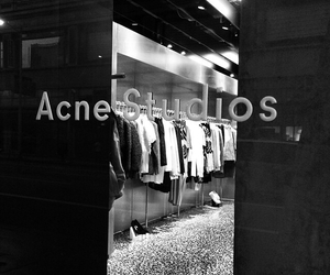 acne, bw, and clothes image