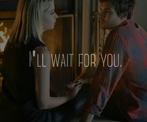 Relationship, wait, and pretty little liars image