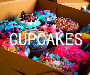 cupcakes, food, and delicious image