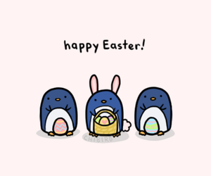easter, cute, and eggs image