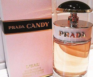 perfume, Prada, and candy image