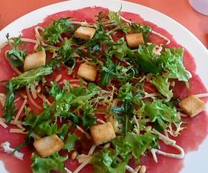 carpaccio, food, and restaurant image