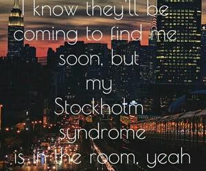city, Lyrics, and night image