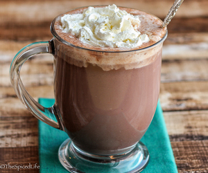 chocolate, cream, and food image