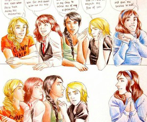twilight, percy jackson, and katniss everdeen image