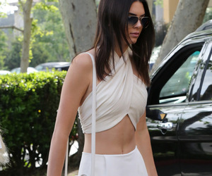 kendall jenner, white, and model image