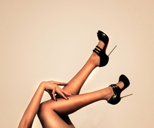 legs, shoes, and heels image