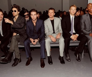 Chace Crawford and jared leto image