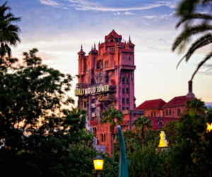 Hollywood Tower Hotel, mickey mouse, and ride image