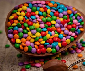 chocolate and happy easter image