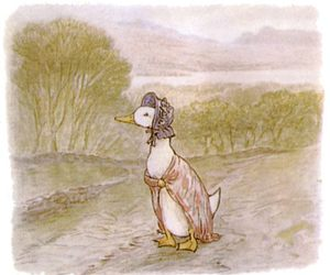 beatrix potter and jemima puddle-duck image