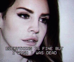 lana del rey, grunge, and quotes image
