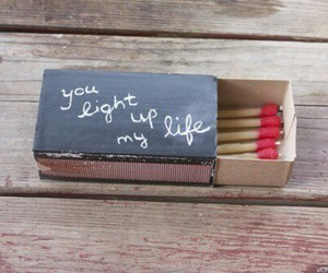 light up, matches, and quote image